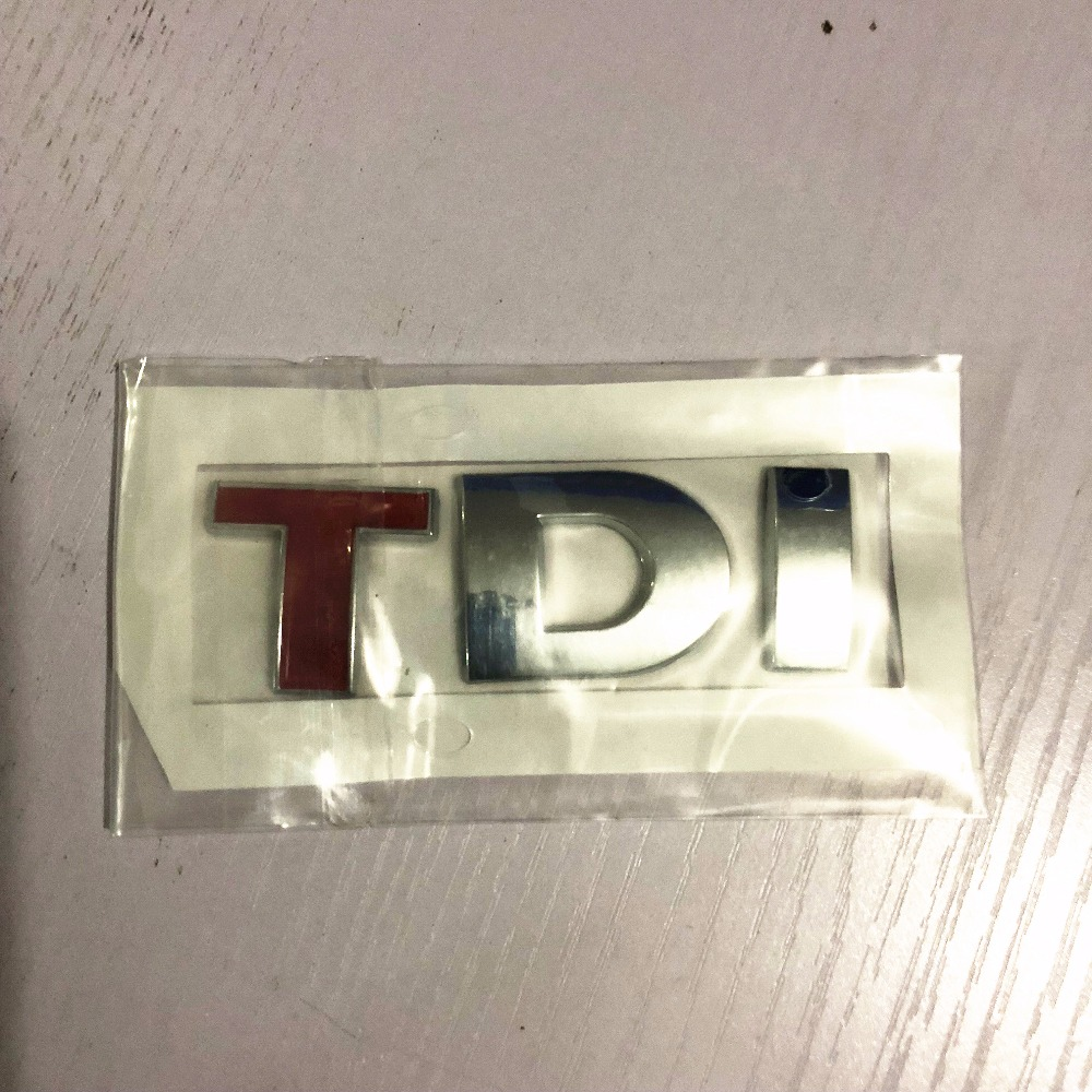 1pc TDI 3D Badge Emblem Decal Auto Sticker for Volkswagen vw POLO Golf 7 Tiguan JETTA PASSAT b5 b6 MK4 MK5 MK6 MK7 car styling beler car grey interior dome reading light lamp itd 947 105 fit for vw golf jetta mk4 bora 1999 2004 passat b5 1998 2005