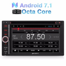 Pumpkin 2 Din 7 Android 7 1 Car DVD Player GPS Navigation Qcta Core Bluetooth Car