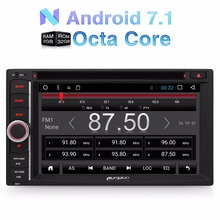 Pumpkin 2 Din 7 Inch Android 7.1 Universal Car DVD Player Qcta-Core Bluetooth Car Radio GPS Navigation Wifi 3G Subwoofer Stereo