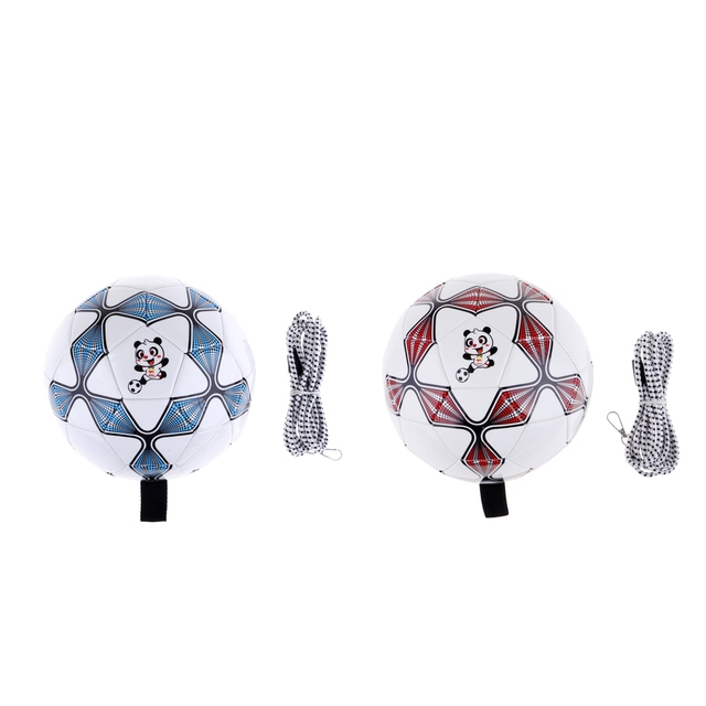 Soccer Ball With High Strength Elastic String Outdoor Training Solo Practice Control Skills For Kids