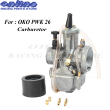 Motorcycle Carburetor Parts Modification 26mm for OKO PWK26 Carb With Power Jet Race Scooter ATV