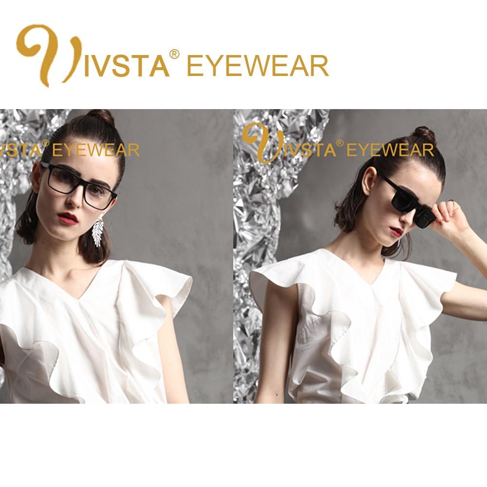 IVSTA 5 Clip On Solglasögon Män Polariserad Magnet Solglasögon - Kläder tillbehör - Foto 5