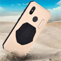 IMATCH Daily Life Waterproof Case Luxury Shockproof Metal Silicone Cover 360 Full Protection Case For Xiaomi Mi 8 MI8 M8