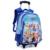 Maletas y bolsos de Escuela para Niños niñas randoseru infantil escuela bolso de la carretilla y Mochila niños mochilas y niños rodando mochila