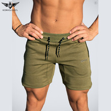 KORKSLORES High Quality 2017 new summer mens shorts elastic casual shorts fashion jogger shorts men Fitness shorts