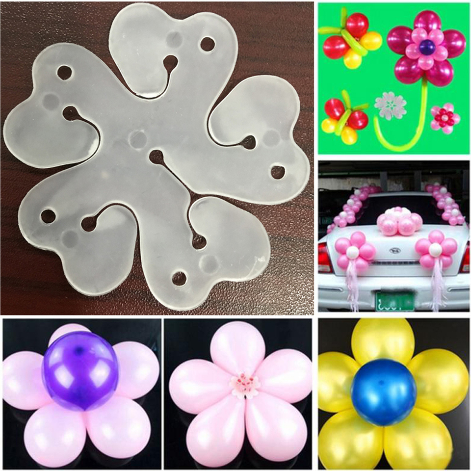 10pcs Lot Flowers Balloons Sealing Clips Diy Balloons Fixed Accessories For Birthday Wedding Party Decoration Supplies Ballons Accessories Aliexpress
