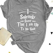 c952031b Funny O-Neck Shirt I Solemnly Swear That I Am Up To No Good T