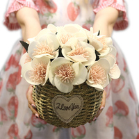 Z Doniczka/Sztuczny Kwiat Doniczkowy Sztuczne Bonsai Fałszywy Kwiat Wesele Tabela Halloween Boże Narodzenie Wystrój Domu