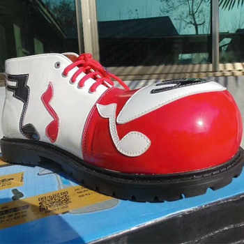 PU cute clown shoes for adults fashion professional clown shoes pennywise the clown booots the joker accessories happy shoes - DISCOUNT ITEM  15% OFF All Category