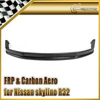 EPR Car Styling For Nissan Skyline R32 GTR Fiberglass FRP Fiber Glass RB Style Front Bumper