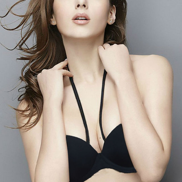 e2956156bf711 Vogue Secret Sexy Bra Lady Underwear Half Cup Supper Padded Push Up  Bralette Strapless Bra Underwire Size 32 34 36 38 40 A B C D