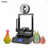 Ortur 4 OEM 3d Printer Linear Guide Rail Structure Multicolor 3d Printer Diy Kit Big Size Industrial Metal 3d Printer Machine