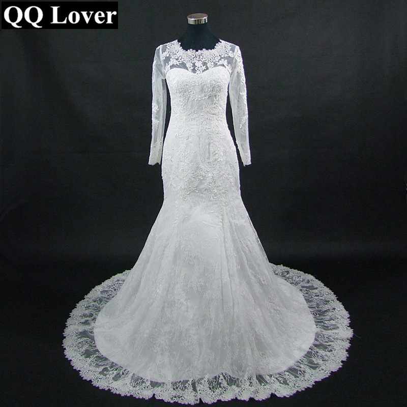 Aliexpress.com : Buy QQ Lover 2018 New Beautiful Lace Long Sleeves ...