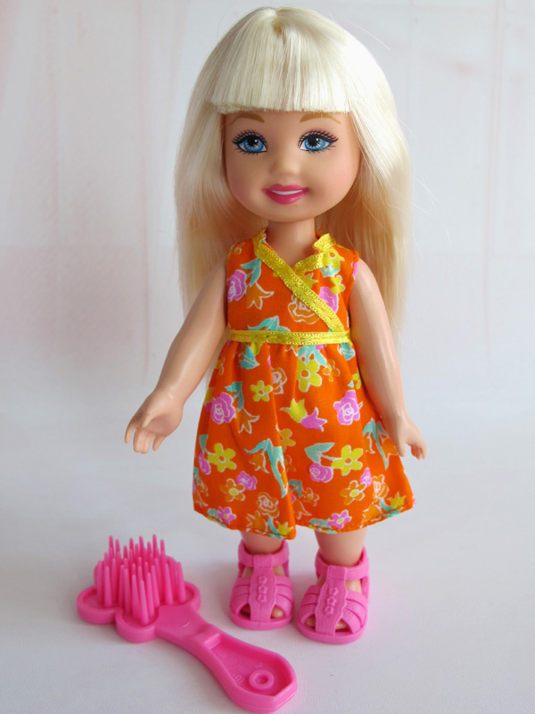 New 15cm Doll body and head full doll For Little Kally Toy Gift BBI00226A