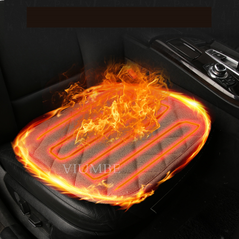 1PCS Auto 12V Heated Car Seat Cushion Warm in winter Seat Covers universal Heater Warmer Household Hot Cushion cardriver heated