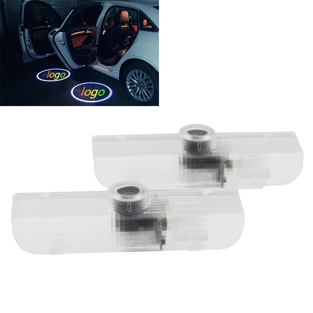 2x LED Car door courtesy laser projector Logo Ghost Shadow Light Infiniti QX56 2004-2010 JX35 2013-2014 QX60 2014