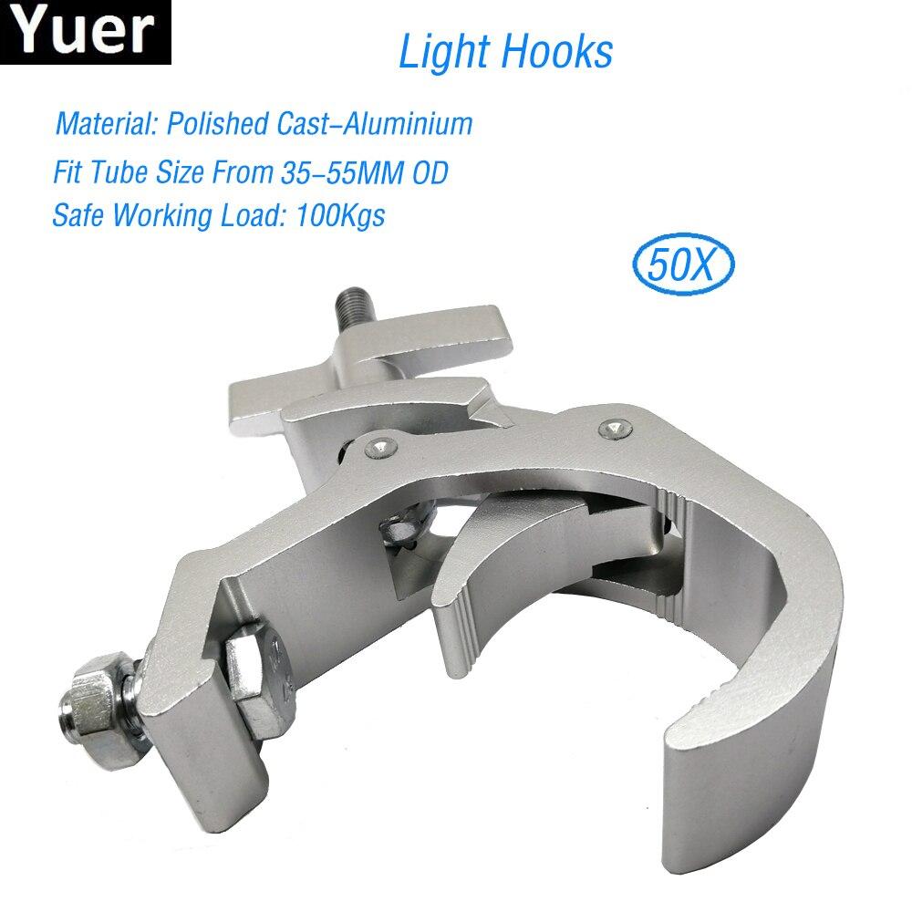 Free Shipping 50pcs Lot Disco DJ Stage Audio Heavy Duty Light Mounting Aluminum Lamp Hook 35