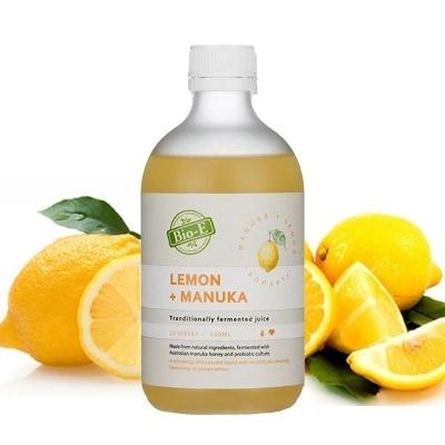 Bio-e lemon+manuka Traditionally fermented juice 500ml volcano plus cola fudge e juice