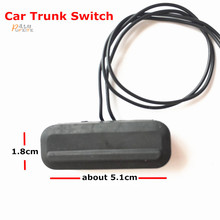free shipping Switch For Chevrolet Cruze (Sedan) 2009-2014 Trunk  With Wire Trunk Button Switch  Black
