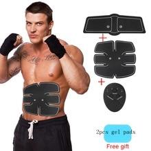 Smart Abdominale Formateur Musculaire Autocollant + Abs Muscle Stimulateur  Pad Gym Abs Plus Mince Sport Autocollants + contrôleu. edda99f4fdb