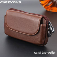 Phone Pouch For Samsung Galaxy S7 Belt Clip Pouch Genuine Leather Case For Galaxy S7 Edge