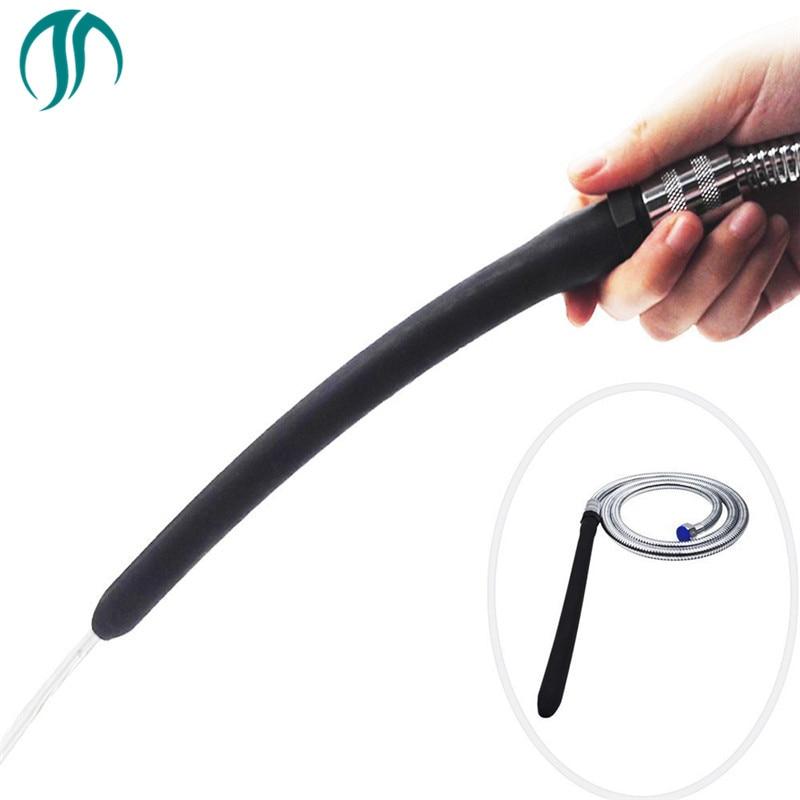 Modun Anus Douche Enema Flush Flex Tip Cleaning Bidet Anal Shower Portable Hose Vaginal Douche Enema Shower Anal Vaginal Hose