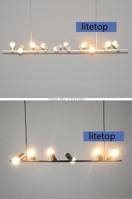 Ceiling Hanging Chandelier lighting 10 lights Modern design Birds ...