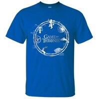 Hot Sale Game Of Thrones T Shirts 2017 Summer Fashion Men Tee Shirts 100 Cotton Men