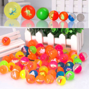 1/5/10pcs Kids Mini Rubber Bouncy Ball Bouncing Balls Super Bouncy Superball Elastic Toy Game Party Gifts