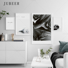 Black and White Minimalist Decorative Painting Minimalist Art Nordic Style Poster Living Room Decorative Painting Wall Art Pictu