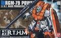 Bandai HGUC 67 RGM-79 Powered GM Gundam Model Kit Assembled Model scale model