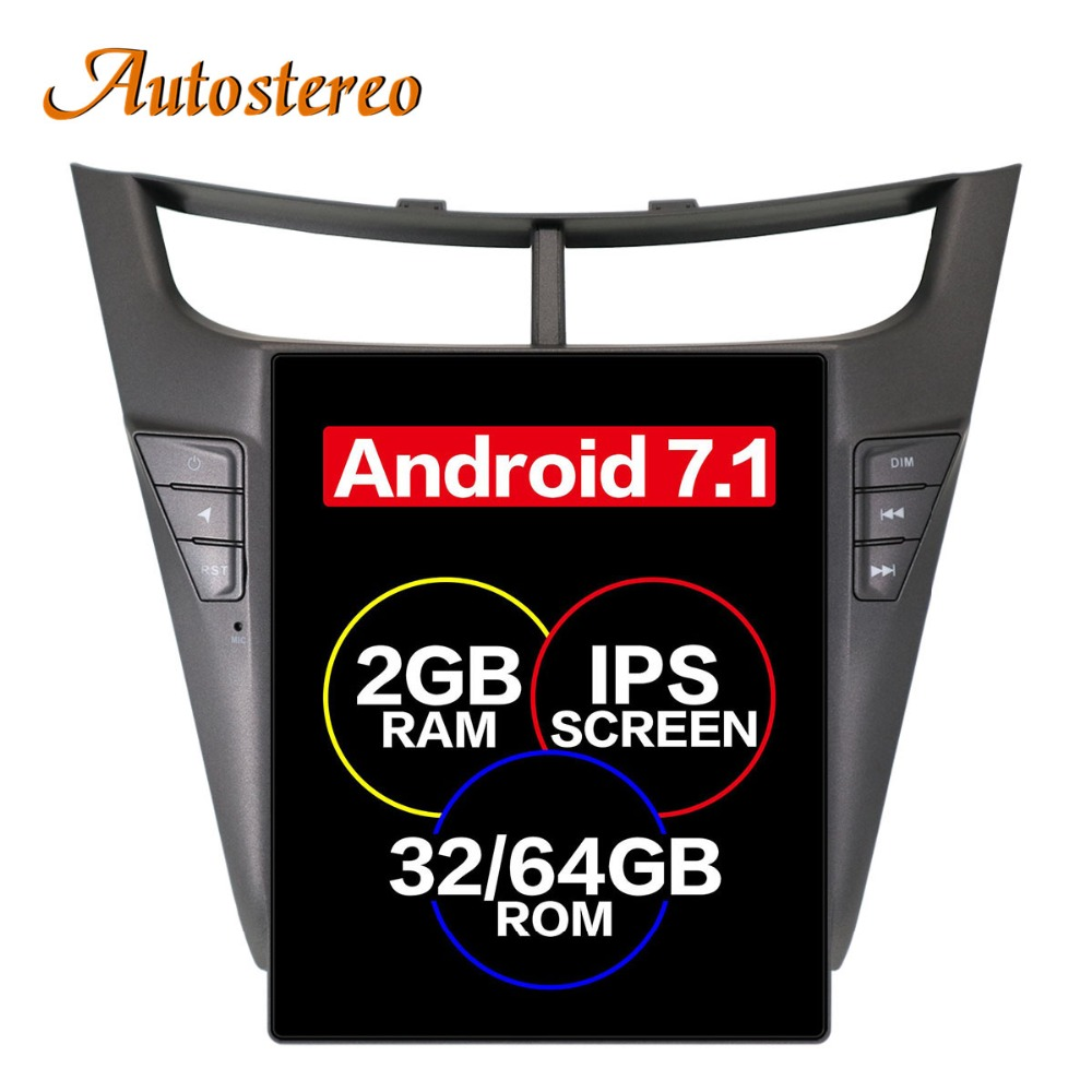 Tesla style Car GPS Navigation autostereo For Chevrolet sonic sail 2015 head unit stereo multimedia player