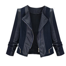 59cab198c Leather Quilted Coat Promotion-Shop for Promotional Leather Quilted ...