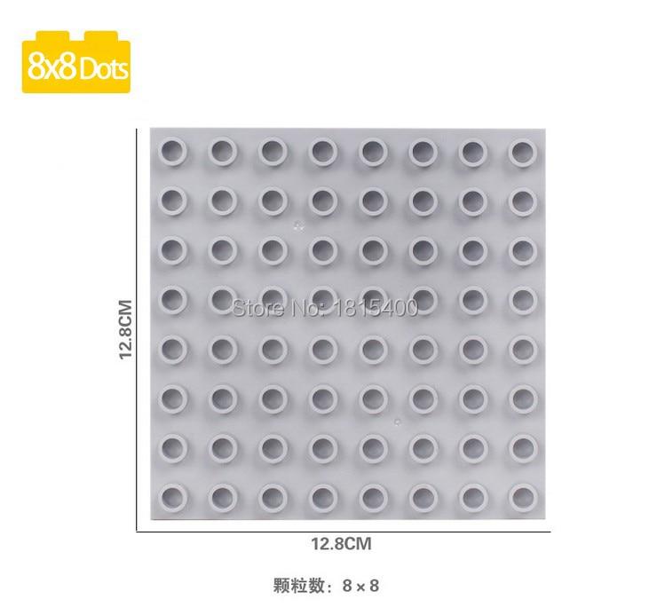 Uşaq Oyuncaqları Böyük Plastik Kərpic hissələri Lego Duplo - Uşaq konstruktorları - Fotoqrafiya 2