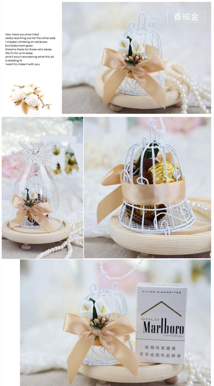 16pcs/lot Metal Birdcage bell children Birthday Wedding Party Favour ...