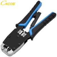 CNCOB Kabel Crimper  Modulare Crimp-werkzeug  Für Schnitte  streifen  und Crimps 2 Art Der Stecker In  Dual-use-multi-funktion  8 P/6 P