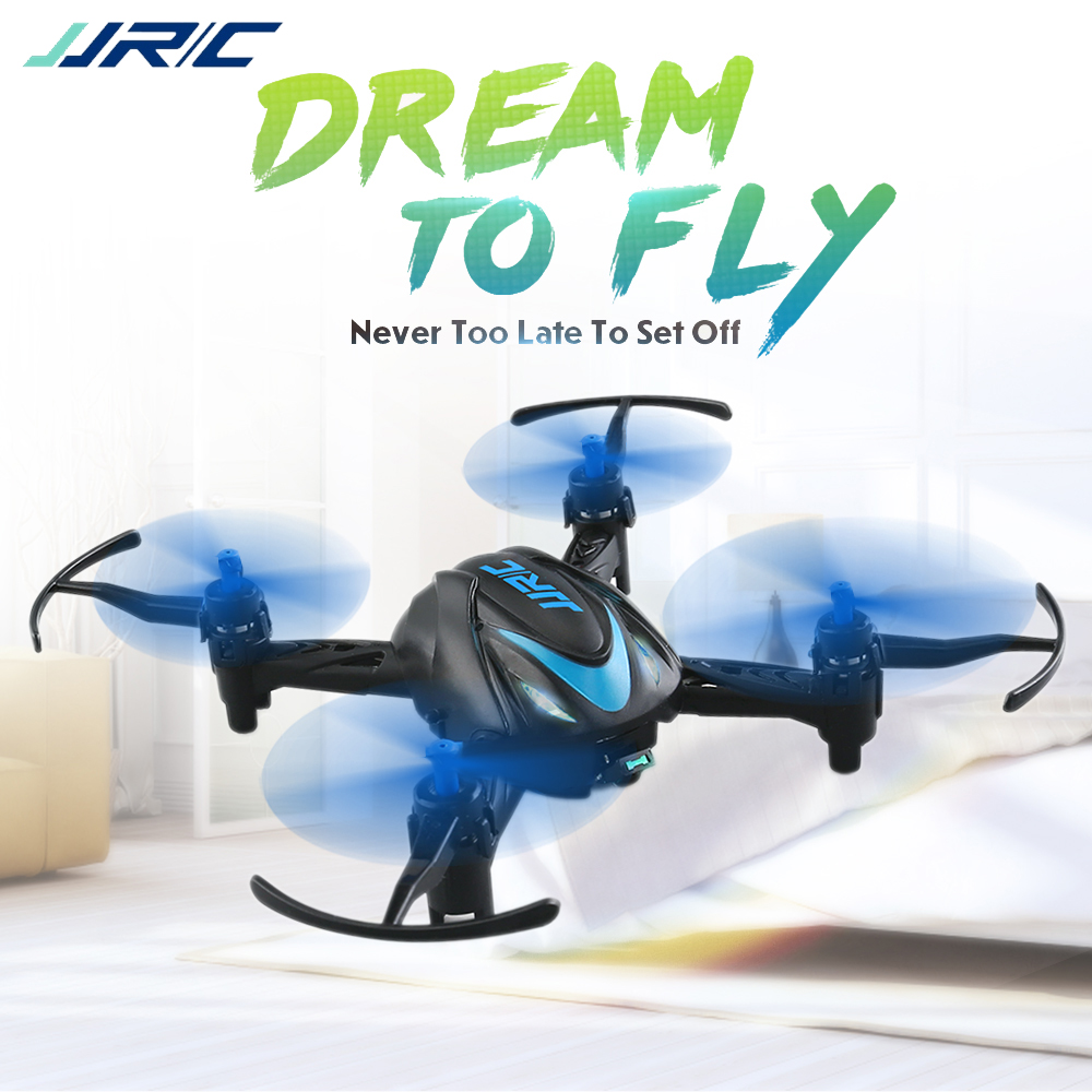 Em Estoque JJRC H48 MINI 2.4G 4CH 6-Eixo 3D Flips RC Drone Quadcopter RTF VS CX-10 S9 e010 para Crianças Crianças Brinquedo de Presente de Natal