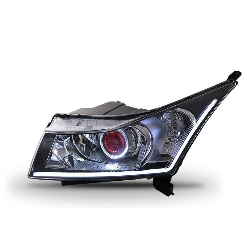 Daytime Styling Running Assessoires Luces Para Auto Drl Led Front Fog Headlights Car Lights Assembly For Chevrolet Cruze printio мозговой штурм