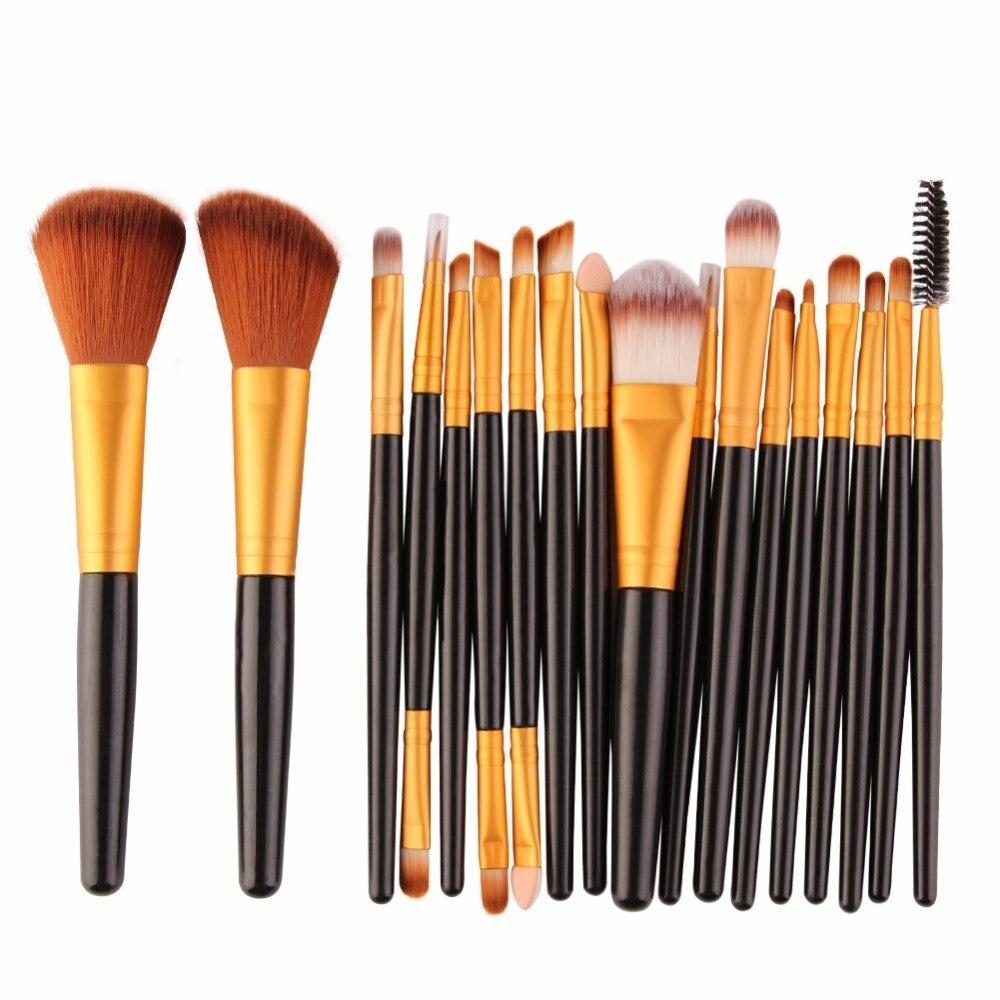 Brushes For Makeup Brushes Tool 18/15Pcs Set Cosmetic Power Eye Shadow Foundation Blush Blending Beauty Make Up Brush Maquiagem