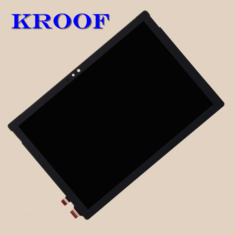 Haute Qualité Pour MicroSoft Surface Pro 4 1724 LCD Affichage à L'écran Tactile Digitizer Assemblée Remplacement