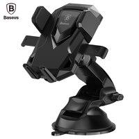 Baseus Robot Car Phone Holder Universal 360 Degree Flexible Sucker Suction Cup Windshield Mount Holder Stand