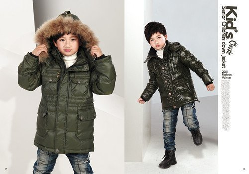 The little elder brother benny down jacket products are guaranteed quality assurance, white YaRong