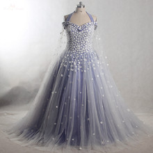 RSE828 Yiaibridal Real Job Lace Up Quinceanera Dresses