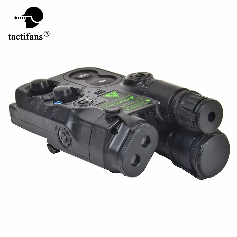 TACTIFANS AN/PEQ 16 Battery Case Integrated Weaver / Picatinny QD Mount Fit 11V 7..4V  Battery For AEG Rifle