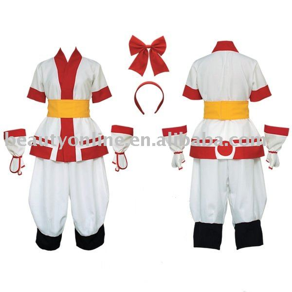 Cosplaydiy Samurai Shodown Cosplay  Nakoruru Cosplay Costume for Adult Halloween Clothing Custom Made