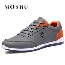 Fashion Spring Men Flats lightweight Casual Shoes