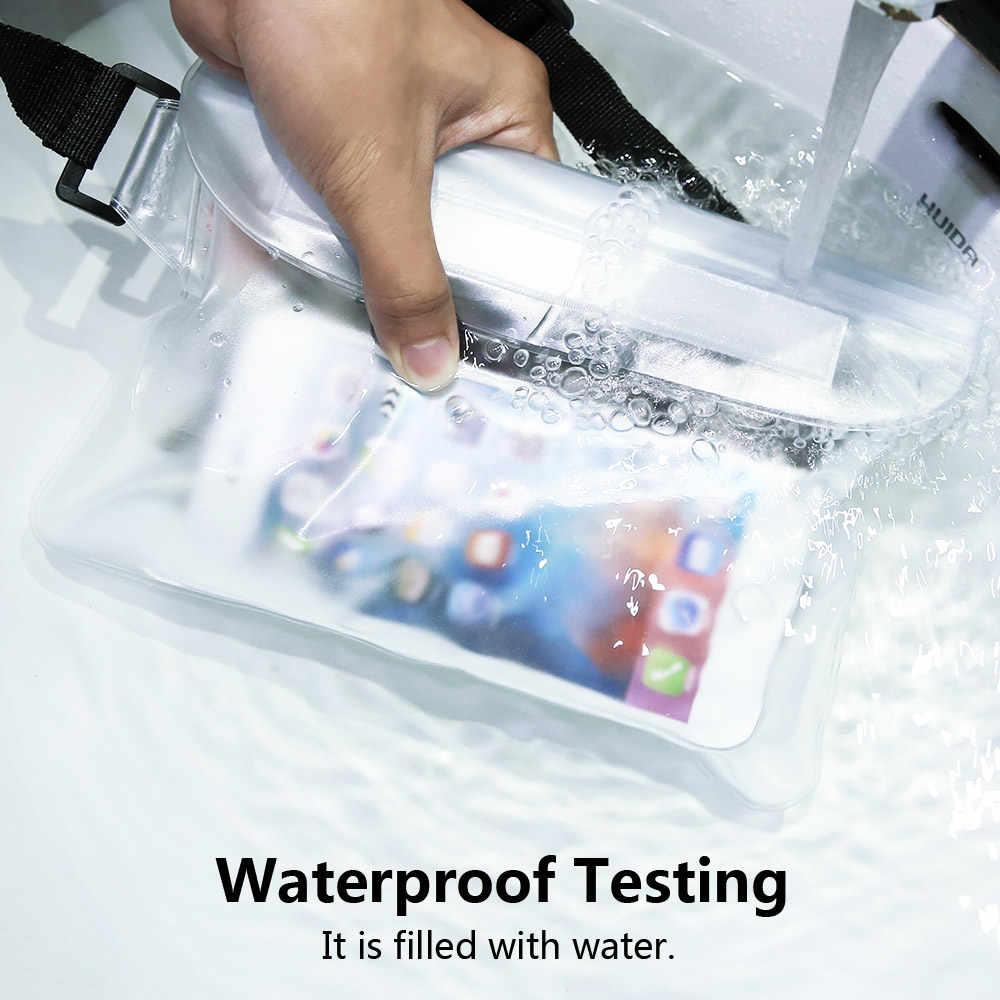 FLOVEME водонепроницаемый чехол для смартфона iPhone XS MAX XR 7 Plus чехол для телефона чехол для huawei Xiaomi подводный поясной чехол