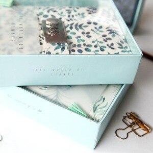 Image 4 - Ramo de folha espiral, anel simples pontilhado diário com fechadura, planejador de joalheria, pontilhado, livro de linha a5