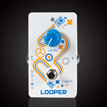 Caline Looper CP-33 Guitar Effects Pedal for Electric/Acoustic/Bass Guitarra Effect Guitar Accessories hand made loop electric guitar effect pedal looper true bypass 3 looper switcher guitar pedal hr 1