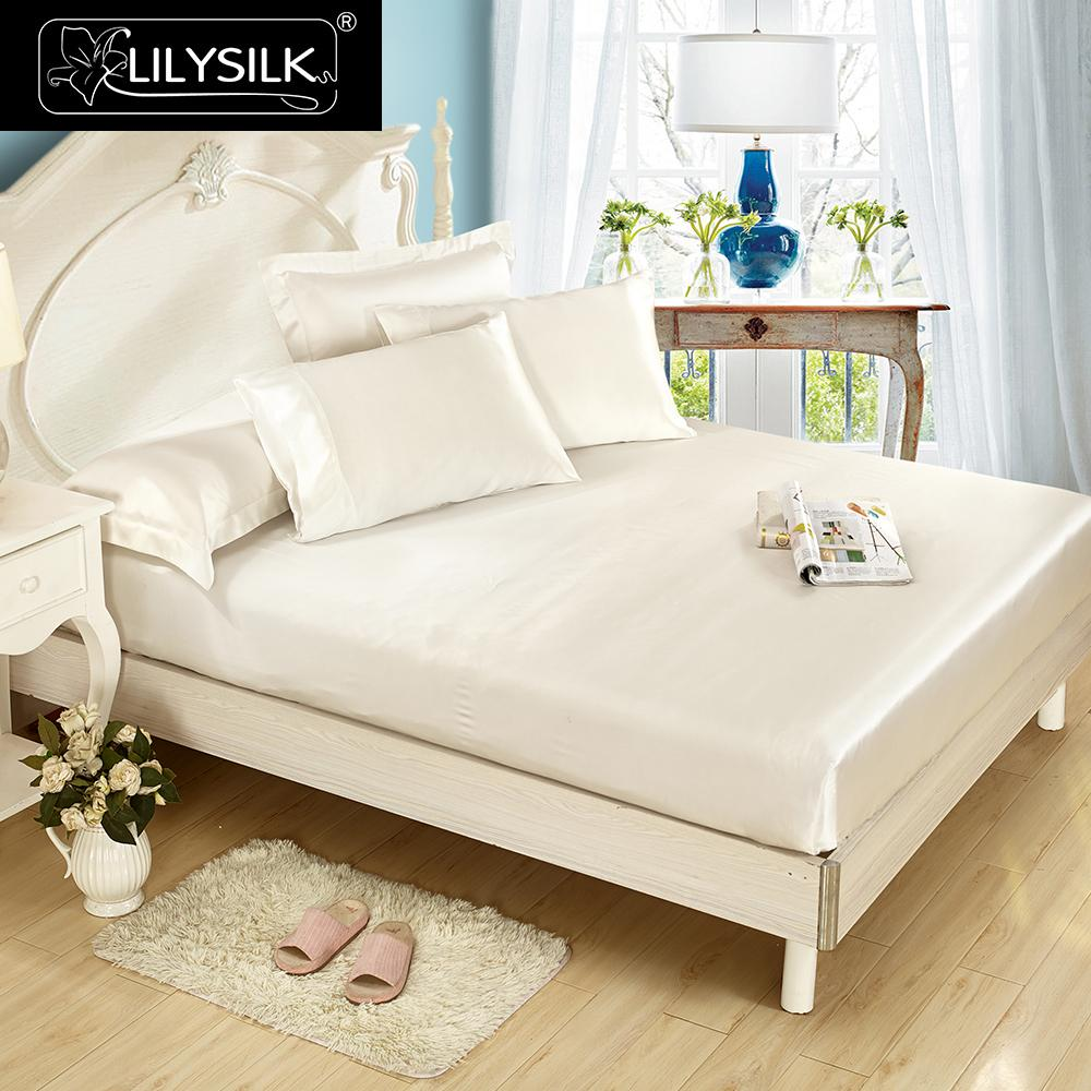 com silk momme kitchen lilysilk queen mulberry bedding dp l amazon sets ivory luxury bed seamless home